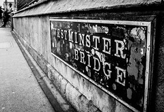 Scenes of London (TD2112) Tags: london westminsterbridge tonyduke mono blackandwhite blackwhite converginglines convergence stone bridge