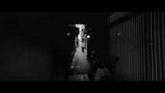 Nara, Japan (emrecift) Tags: candid portrait backlit tunnel street japan analog 35mm film photography bw monochrome cinematic grain 2391 anamorphic crop canon ae1 program new fd 24mm f28 wide angle kodak tmax 100 ilfosol 3 114 emrecift filmdev:recipe=11479 kodaktmax100 ilfordilfosol3 film:brand=kodak film:name=kodaktmax100 film:iso=100 developer:brand=ilford developer:name=ilfordilfosol3