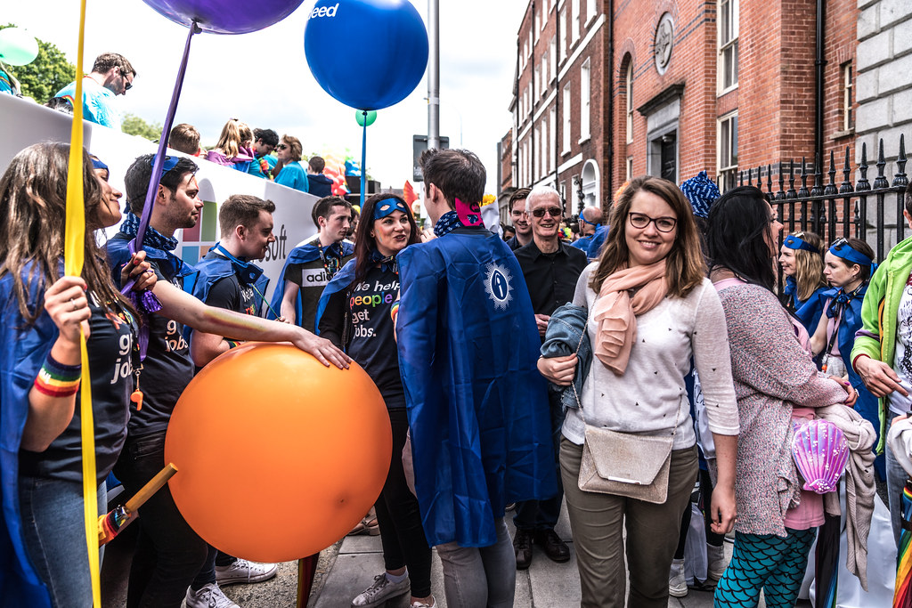 LGBTQ+ PRIDE PARADE 2017 [STEPHENS GREEN BEFORE THE ACTUAL PARADE]-129805
