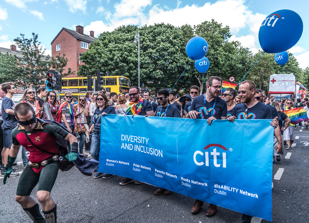 LGBTQ+ PRIDE PARADE 2017 [STEPHENS GREEN BEFORE THE ACTUAL PARADE]-129894
