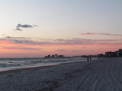 Another beautiful sunset from St. Pete Beach. (cheroberta123) Tags: sunset florida nature beach stpetebeach gulfofmexico sandwater cheroberta123