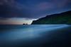 Reynisdrangar (Jón Óskar.) Tags: reynisdrangar reynisfjall vík sunset ocean mountains cliffs iceland jónóskar