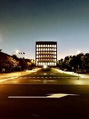 Palazzo della Civiltà Italiana, EUR, Rome, Italy. Metapolitica (Massimo Virgilio - Metapolitica) Tags: metapolitica