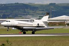 SE-DJL (GH@BHD) Tags: sedjl dassault dassaultfalcon falcon7x svenskiindustriflygab bhd egac belfastcityairport trijet bizjet corporate executive aircraft aviation