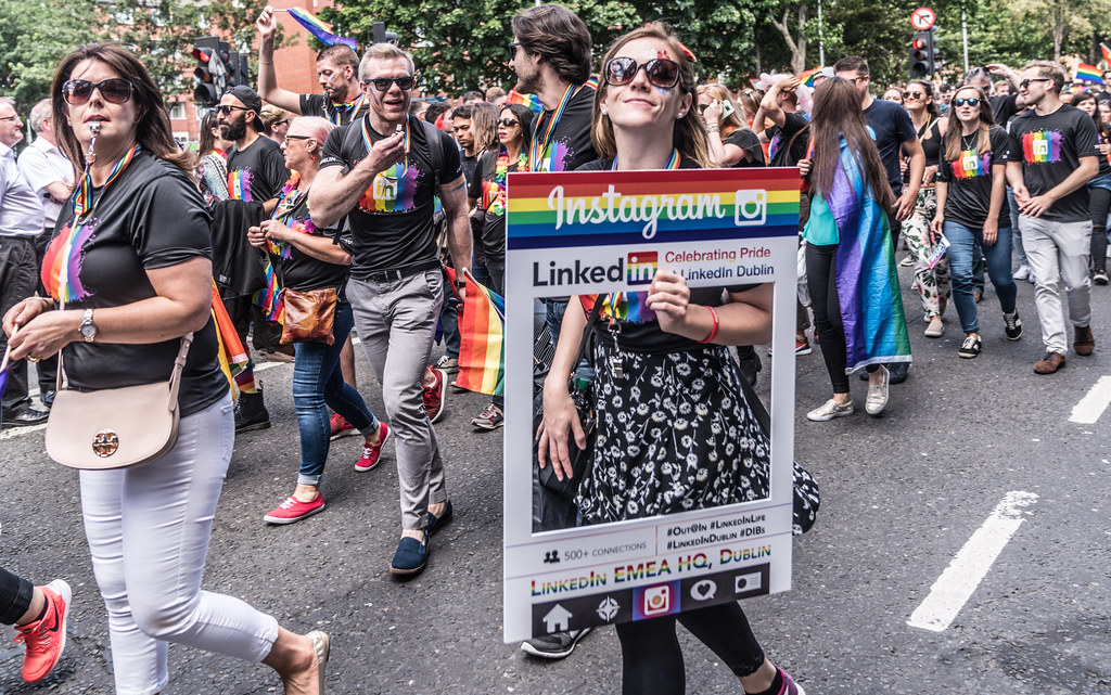 LGBTQ+ PRIDE PARADE 2017 [ON THE WAY FROM STEPHENS GREEN TO SMITHFIELD]-130081