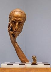 1967 Marcel Duchamp Cast Alive by Marcel Duchamp (KC) (MO FunGuy) Tags: nelsonatkinsmuseumofart kansascity missouri
