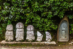 IMG_1886 (Evgeny Gorodetskiy) Tags: kyoto asia travel arashiyama city outdoor park autumn japan statue kyōtoshi kyōtofu япония jp