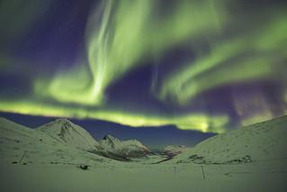Aurora Borealis at Tromvik