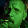 green (Ivan Ovchinnikov) Tags: green light cigarette portrait night nikon sigma30mmf14 30mm shadow diod chiile ivanovchinnikov ивановчинников пермь contrast