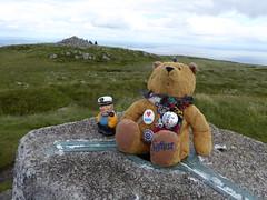 Ted and Captain Colin (Brian Cairns) Tags: saintmonicasramblers criffel dumfries stoopidchips brianbcairns