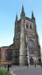 St Editha's Church, Tamworth, Staffordshire (Pjposullivan1) Tags: stedithaschurch tamworth gothicarchitecture gothicrevival williambutterfield georgegilbertscott gradeilisted churchtower