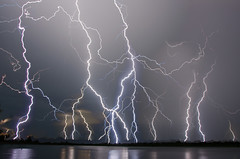 Lightning (corkemup52) Tags: lightning lake landscape rockfordlake beatrice beatricenebraska nebraska storm nebraskathunderstorms nikond7000 nikon18200mm outdoors nature