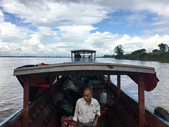 Heading Out on the Irrawaddy River