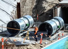CBD & South East Light Rail - Moore Park - Update 21 June 2017 -  2 (john cowper) Tags: cselr moorepark alignment cutandcover tunnel sydneylightrail transportfornsw acconia excratorfans sydney newsouthwales