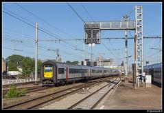 NMBS 524 + 503 - IC 2143 (Spoorpunt.nl) Tags: 18 juni 2017 nmbs deense neus ms96 524 503 intercity trein 2143 station gare aarlen arlon