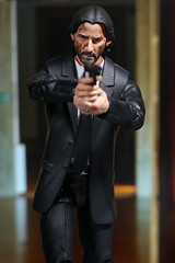 John Wick Custom (kevchan1103) Tags: john wick chapter 2 keanu reeves custom head sculpt headsculpt marvel legends toys action figure