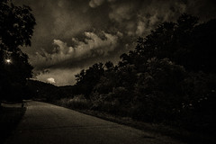 Coming home (citrusjig) Tags: pentax k3 sigma1020mmf456 blackandwhite toned manualfocus clouds storm