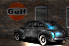 Gulf Sign (Tim @ Photovisions) Tags: gulf sign kansas vintage gas
