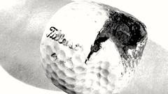 Broken ;)HMM (Jon Hughes2) Tags: macromondays broken nikond3100 nikkorp55mmmacro macro golf titleist