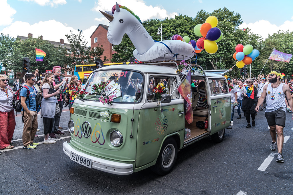 LGBTQ+ PRIDE PARADE 2017 [STEPHENS GREEN BEFORE THE ACTUAL PARADE]-129892