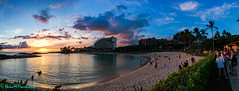Aulani Lagoon Panorama at sunset (robertperrin25) Tags: aulani sunset lagoon dvc hawaii pacificocean