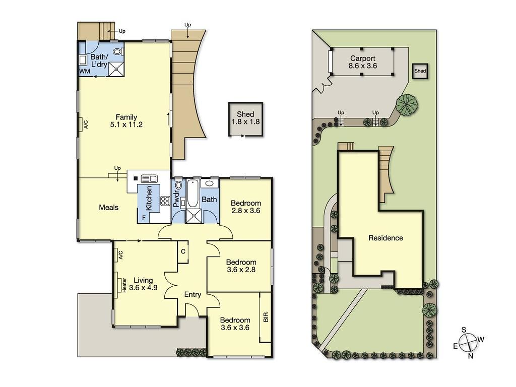 1 Therese Avenue floorplan