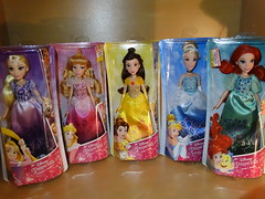 New dolls - Disney Princess Royal Shimmer dolls part 1 (meike__1995) Tags: hasbro disney princess royal shimmer dolls new 2017 rapunzel sleeping beauty belle cinderella ariel
