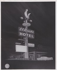 El Rancho Hotel Sign Rendering by Electrical Products Corp. - West Sacramento, Calif. - 1960 (hmdavid) Tags: vintage sign signage federal federalsign california roadside advertising 1960s elrancho hotel sacramento rooster plastic westsacramento