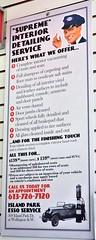 Supreme Interior Detailing Service (Will S.) Tags: mypics artmoderne artdeco architecture gasstation fillingstation petrolstation esso exxonmobil exxon imperialoil ottawa ontario canada