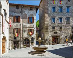Palazzo Bargello (fausto.deseri) Tags: palazzobargello fontanadelbargello lafontanadeimatti gubbio perugia umbria nikond7100 tokina1116mmf28 faustodeseri