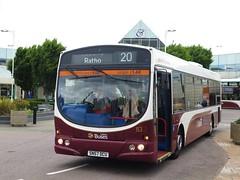 Lothian Buses 153 (SN57DCU) - 24-06-17 (peter_b2008) Tags: lothianbuses edinburgh volvo b7rle wright eclipseurban 153 sn57dcu buses coaches transport buspictures