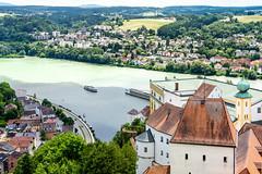 Passau - Drei Flüsse (juergen.treiber) Tags: inn donau ilz