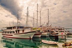02 - Luka Krilo, un port de radoub au sud de Split et de Baška Voda (paspog) Tags: lukakrilo croatie craotia may port radoub hivernage hafen mai 2017
