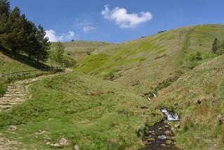 Jacob's Ladder (Path) Peak District National Park, Derbyshire, England.
