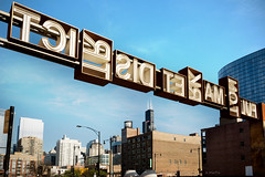 District Market Fulton (Andy Marfia) Tags: chicago fultonmarket sign lettering fulton market district searstower d7100 1685mm 1400sec f8 iso100
