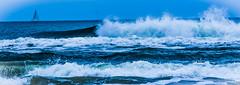 Soothing..... (tomk630) Tags: nature florida beach surf sailboat soothing beauty morning