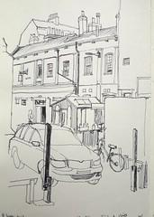 Silver Street, from Mr Chippy in Church Street, York
