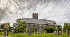 Narberth St Andrews Church (PRPhoto-Wales) Tags: andrew narberth pembrokeshire standrews uk wales burials church clouds dramatic grass graves gravestones graveyard green nofilters nothdr parish saint skies sky stone tombstones trees