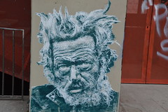 face in the street (Jeanne Menjoulet) Tags: paris13 streetart old man homeless sdf clochard homme donmccullin irishman london