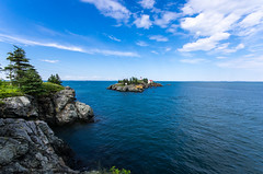East Quoddy Head Lighthouse (alohadave) Tags: campobelloisland canada charlottecounty eastquoddyheadlighthouse harborheadlighthouse newbrunswick northamerica pentaxk5 places sigma1020mmf456exdc