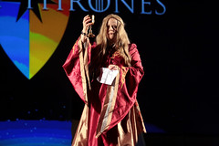 Cersei Lannister cosplayer (Gage Skidmore) Tags: cersei lannister cosplay cosplayer con thrones game hbo 2017 gaylord opryland resort convention center nashville tennessee