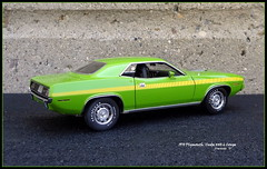 1970 Plymouth 'Cuda 440-6 Hardtop Coupe (JCarnutz) Tags: 124scale diecast danburymint 1970 plymouth cuda 4406
