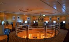 Liberty of the Seas (Jeffrey Neihart) Tags: jeffreyneihart nikon nikkor nikond5100 nikon1855mm ship caribbean royalcaribbean libertyoftheseas internetcafe internet