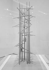 Model for Bell Tower for Hiroshima, 1950 - Isamu Noguchi (samayoukodomo) Tags: blackandwhite bw sfmoma moma museum modernart art sf