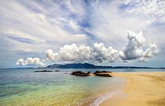 Okinawa Beach (Stuck in Customs) Tags: japan okinawa stuckincustomscom treyratcliff hdr hdrphotography hdrtutorial x1d beach sand cloud sea rcmemories