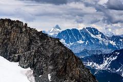 The Matterhorn, from Point Helbronner, Italy (jordancook3) Tags: matterhorn tourdumontblanc alps courmayeur