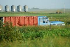 Abandoned truck, Macklin (dylan583) Tags: tamronspf45670300usd sonya700 abandoned truck vivid prairie macklinsk