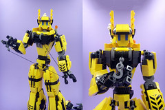 Katarina Chest Revision 2: Electric Winch Boogaloo (E-Why) Tags: lego moc robot girl fembot gynoid construction