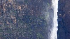 Spot the abseiler! (Hans van der Boom) Tags: holiday vacation travel sawadee zuidafrika southafrica lesotho maseru semonkong maletsunyanefalls waterfall mountains smonkong lso