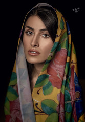 Meygol (behzad.rad) Tags: behzadrad fashion iran persian gilr scarf shawl retouch edit classic beauty dark black nikon canon colors colorful summer iranian girl persiana persianartist persiangirl inspiration bestoftheday super good professional portrait